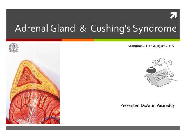 Adrenal gland & Cushing's Disease - Seminar August  2015