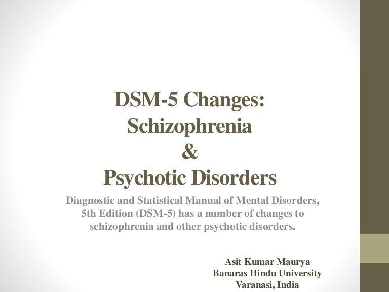Schizophrenia Symptoms and Diagnosis