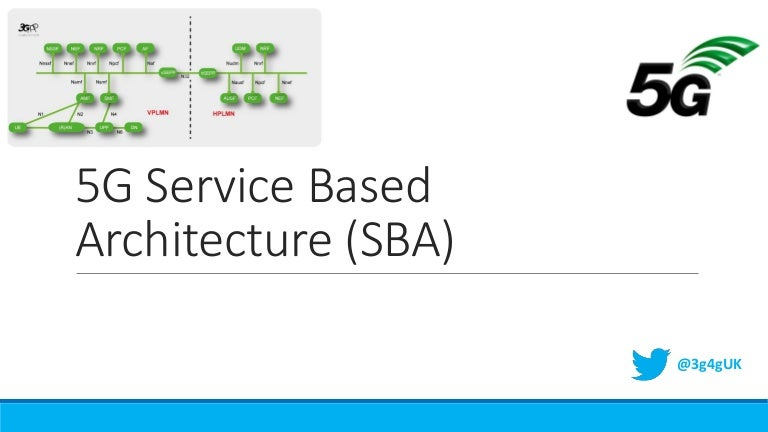 Advanced: 5G Service Based Architecture (SBA)