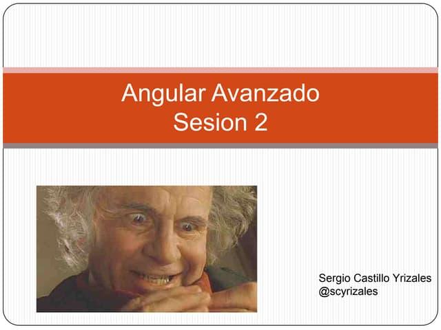 Advanced angular 2