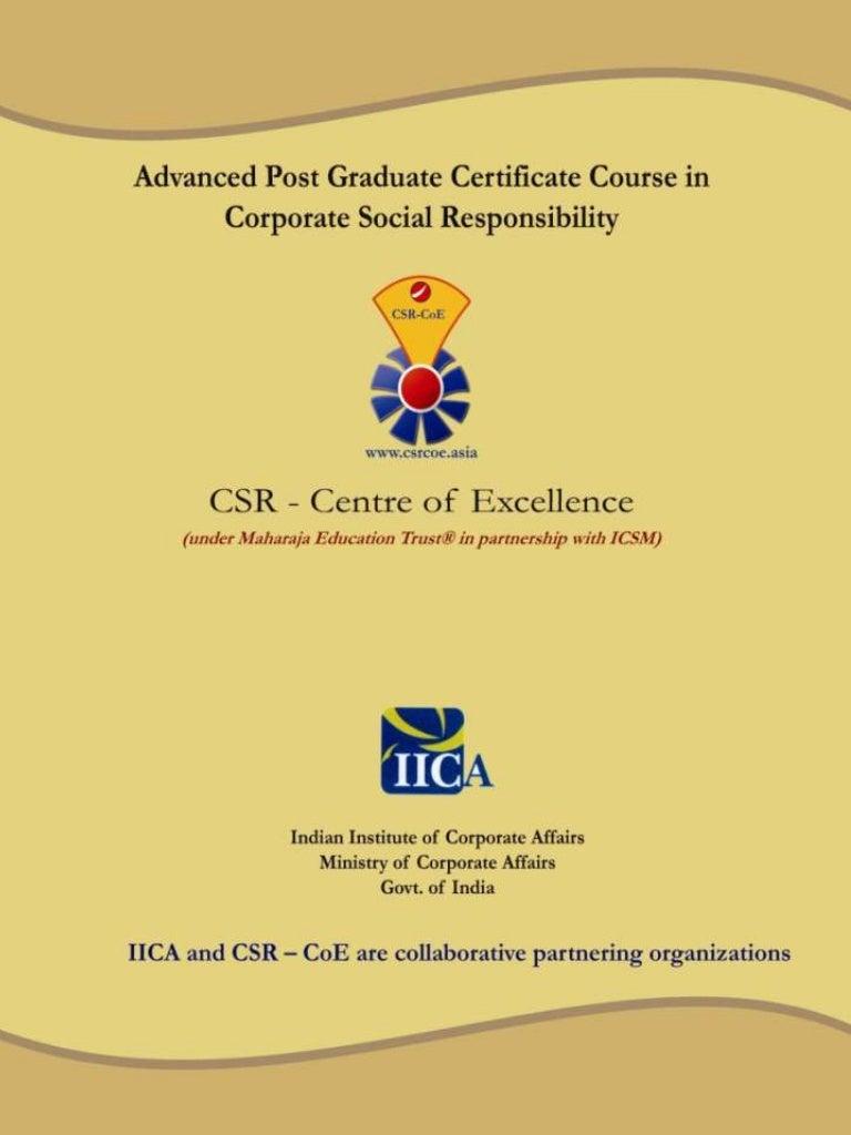 certificate graduate