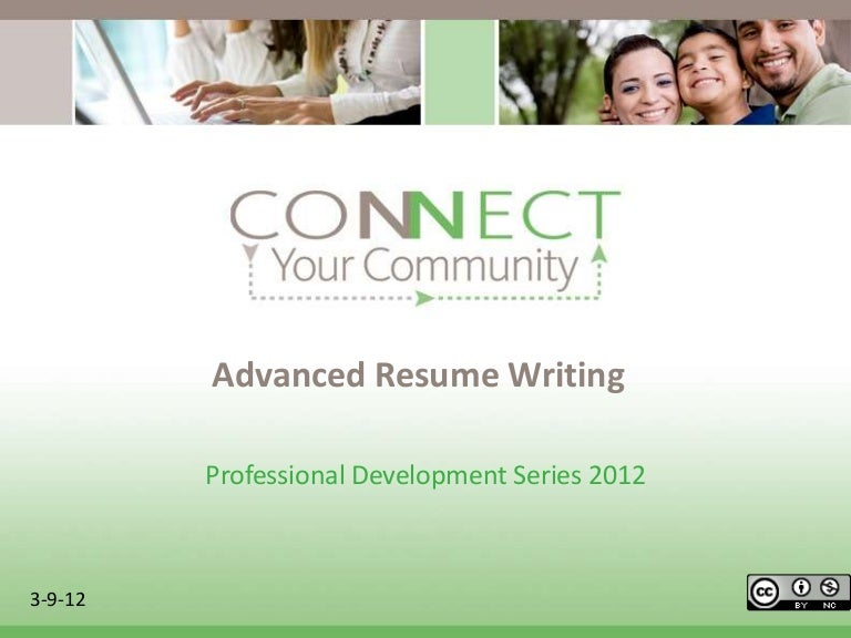 Advanced Resume Writing