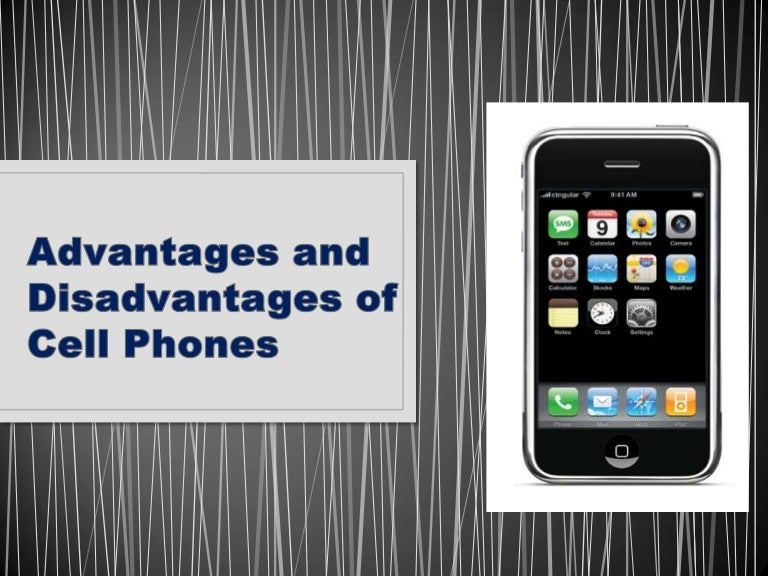 disadvantages of mobile phones for students in school
