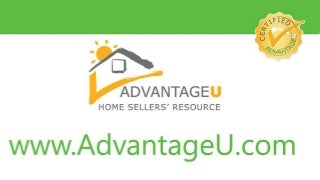 AdvantageU Home Selling Tips- Fix Repair Everything