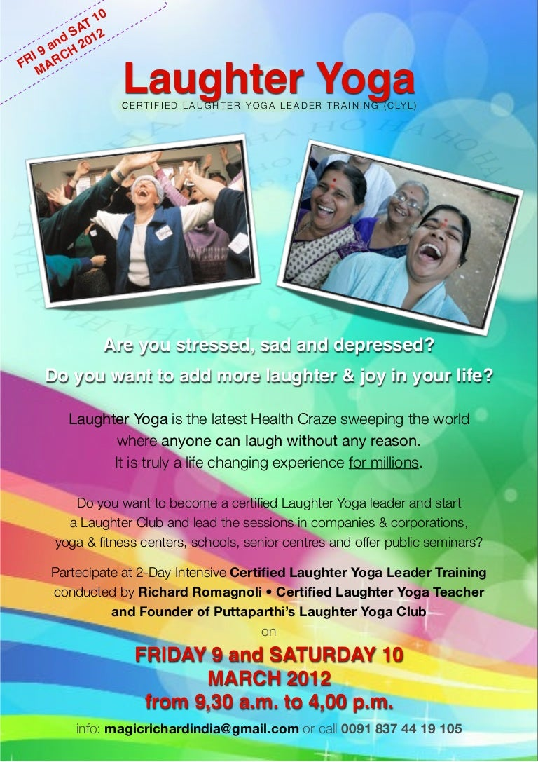 Certified Laughter Yoga Leader Training Puttaparthi India