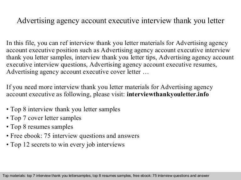 advertising account executive cover letter - Tore.trackbox.co
