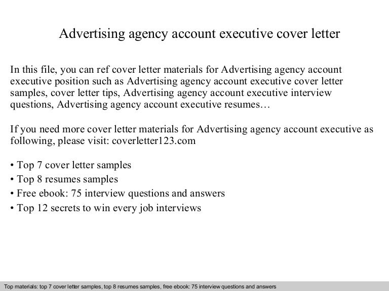 Account Executive Cover Letter Samples Huntercunyedu Winsome