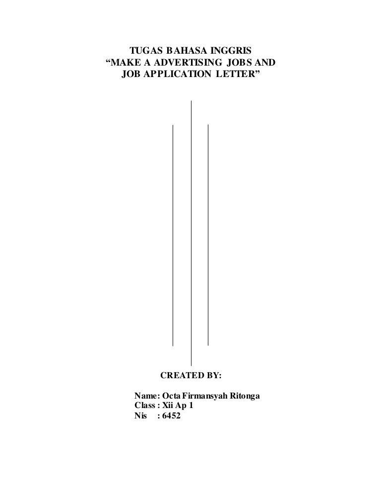 Iklan Lowongan Pekerjaan Dengan Surat Lamaran Pekerjaan