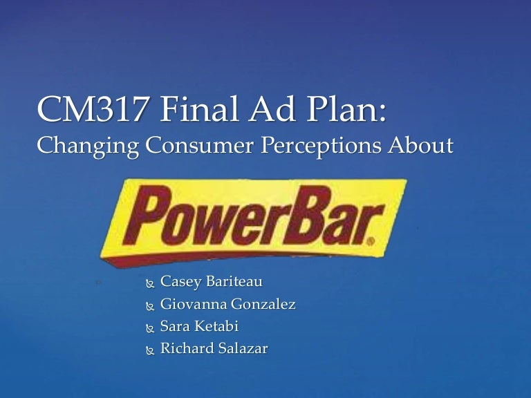 Powerbar Advertising Plan