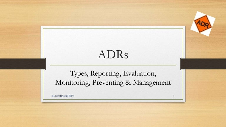 adverse drug reaction monitoring pdf