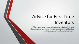 Idea Design Studio 4 Advice For First Time Inventors From Idea Design Studio Ideadesignstudioreviews