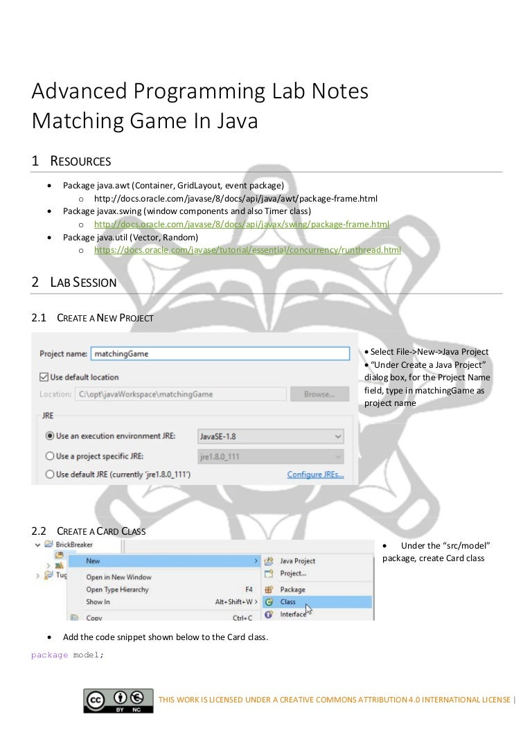 Matching game in java baditri Images