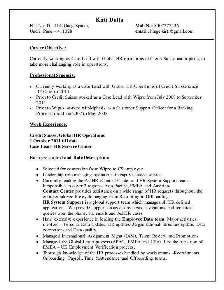 Kirti Dutta_ Resume