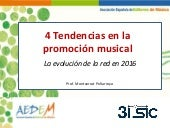 Tendencias 2016 en Marketing Digital para la promoción musical