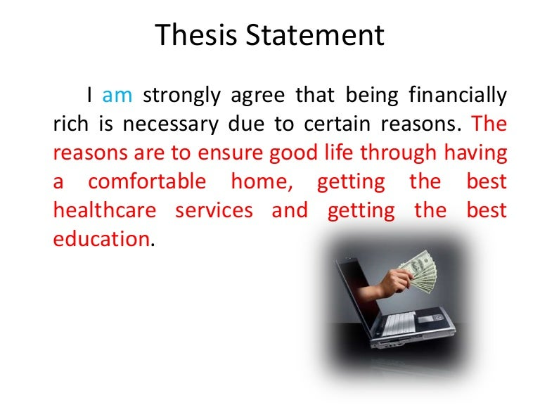 thesis statement business management A thesis statement is one sentence that expresses the main idea of a research paper or essay it makes a claim, directly answering a question a thesis statement must be very specific, indicating statements that are about to be made in your paper and supported by specific evidence.