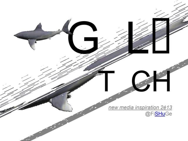 Glitch v novomediálním umění: Technologická chyba jako objekt estetického zájmu (Filip Šašek)