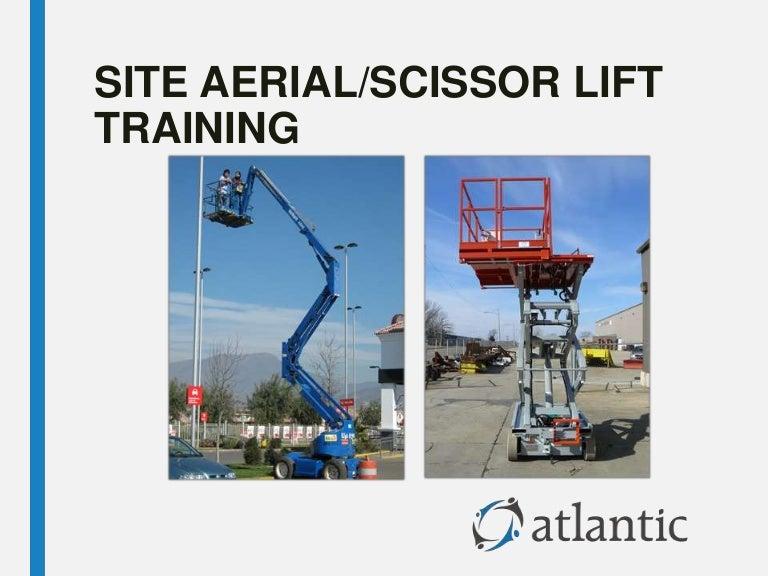 Site Aerial Lift/Scissor Lift Training
