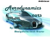 Aerodynamics on car
