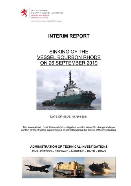 Aet marine-safety-investigation-bourbon rhode-interim-final-15042021