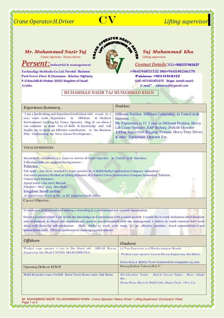 MUHAMMAD CV (1)