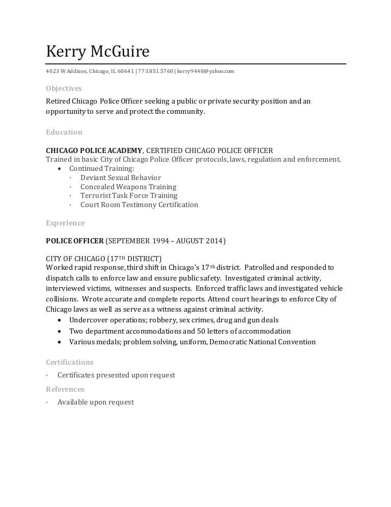 Kerry Mcguire Resume