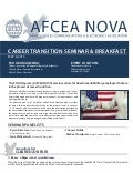 Military Government Career Transition Event with AFCEA NOVA