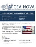 AFCEA NOVA Military Government Career Transition Seminar