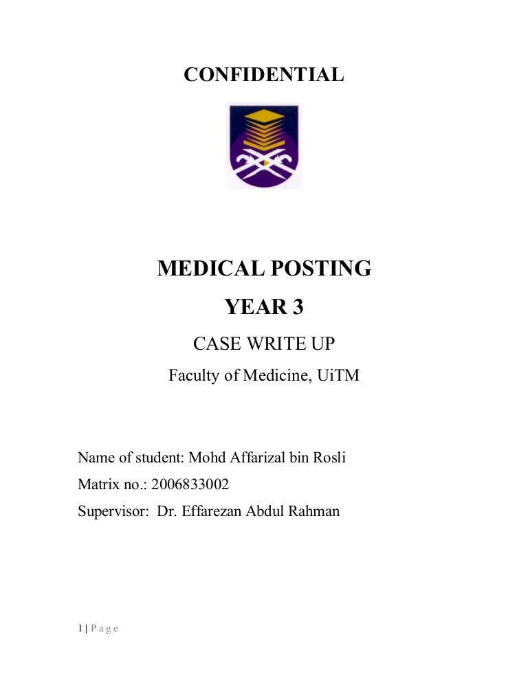 Case write up medicine phd thesis title generator