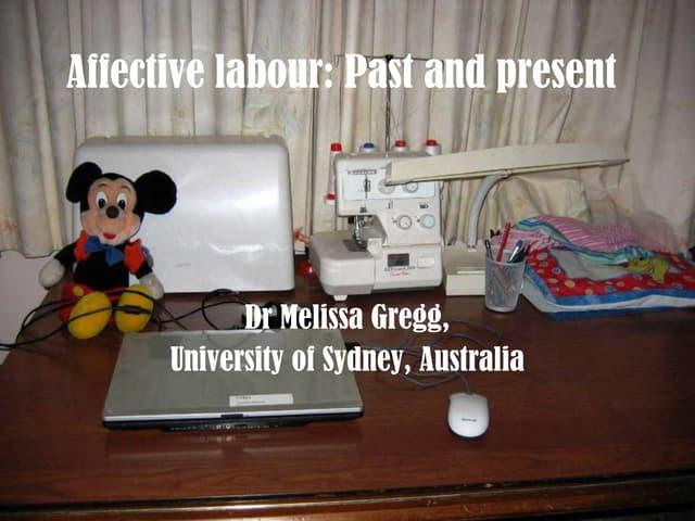 Affective Labor