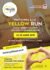 Yellow Run, la course solidaire de l'AMFE