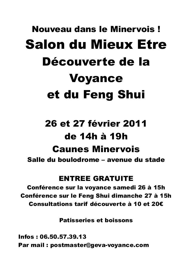 Photo Salon Feng Shui affiche salon a4