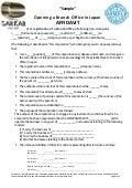 Affidavit for Japan Branch Office Opening. Registration, Incorporation, Formation & Setting-up document