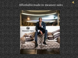 Made To Measure Suits | LinkedIn