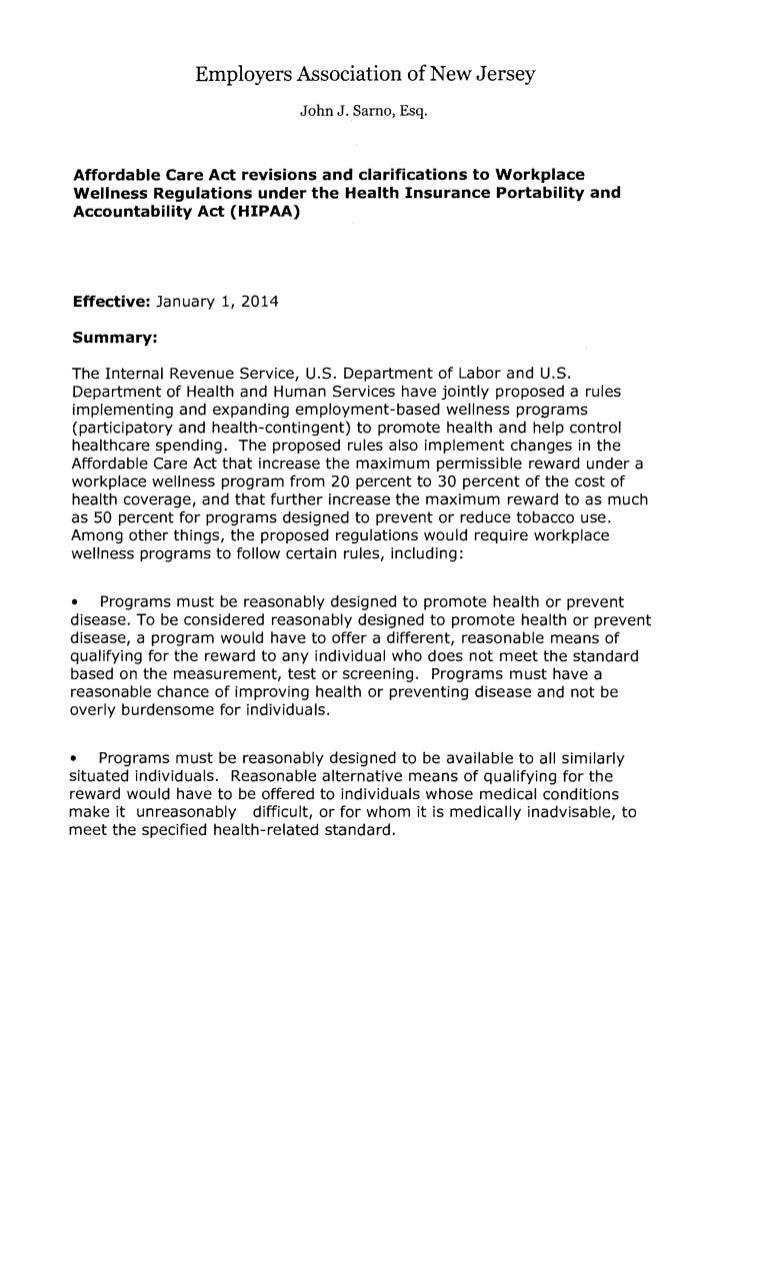 health insurance portability and accountability act summary