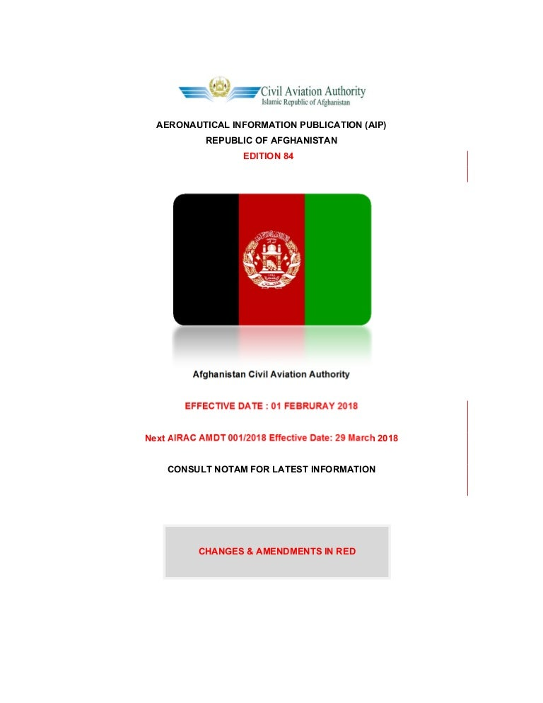 Afghanistan AIP general edition-84-01-feb-2018