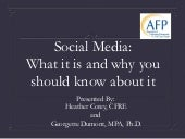 AFP Social Media and Fundraising