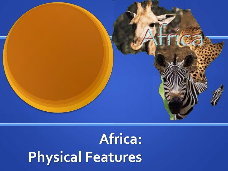 Africa physical features powerpoint
