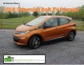 AFS:  Behind the Wheel   2018 Chevrolet Bolt EV