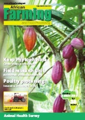 Sep/Oct 2018 African Farming and Food Processing