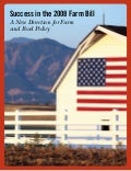 Farm Bill Brochure August 2008 | American Farmland Trust