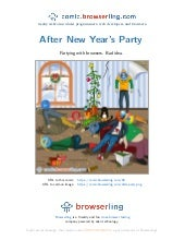 Christmas Party Aftermath - Webcomic about programmers, web developers and browsers