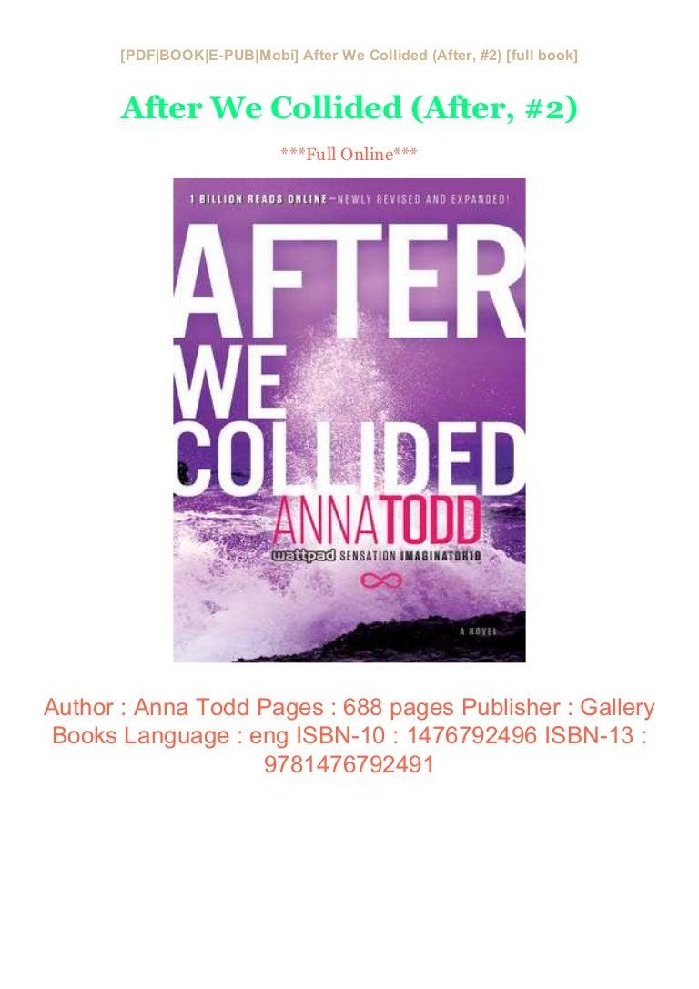 After We Collided After 2 Pdf Kindle Epub