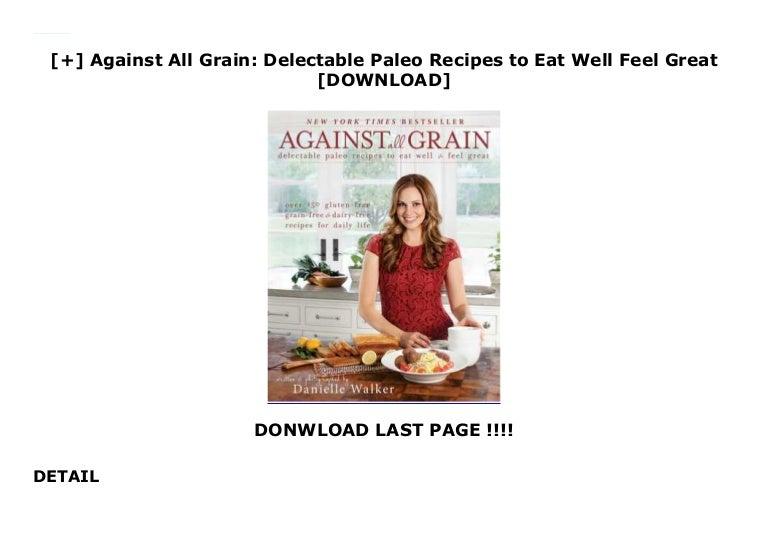 paleo diet against all grain