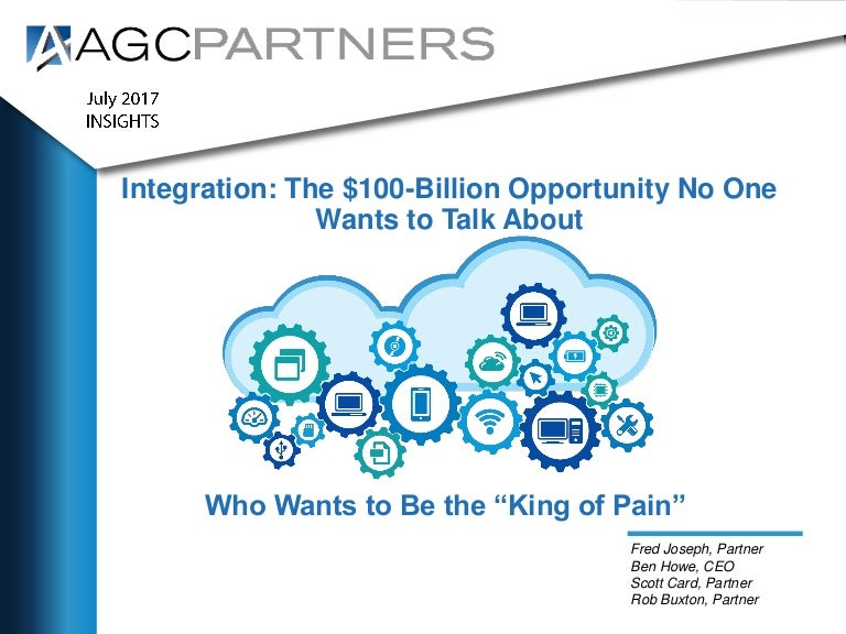 Integration: The $100 Billion Opportunity No One Wants to
