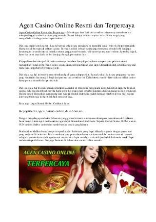 Tangan Poker Online Deposit Via Pulsa