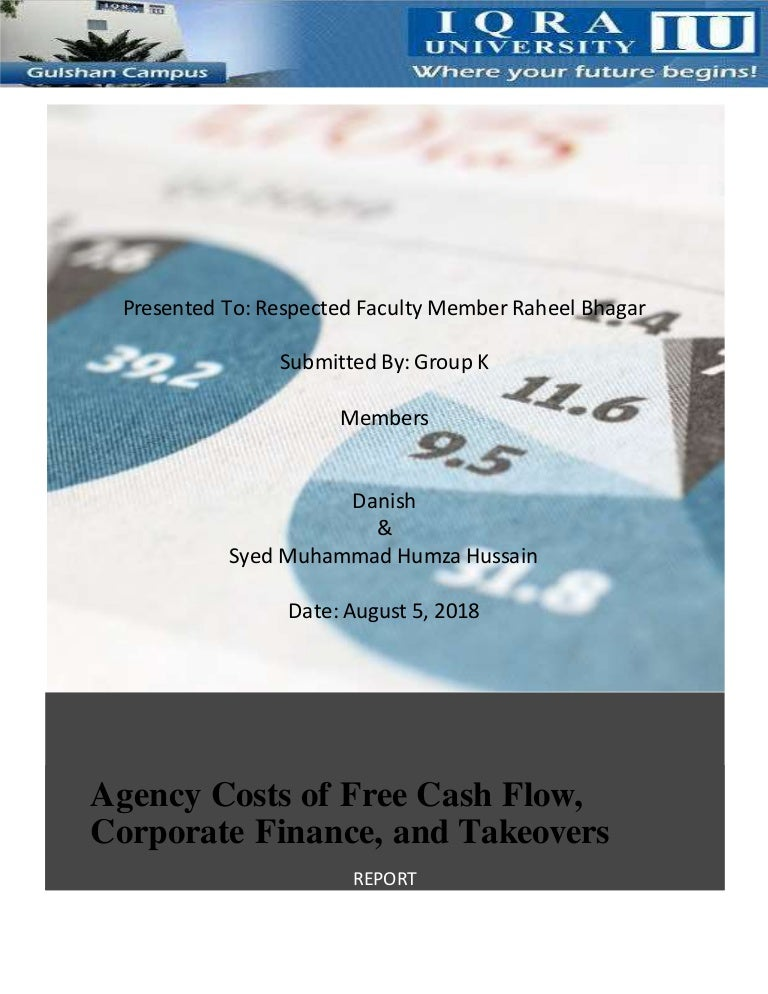 e2a86495d329 Agency cost of free cash flow research review