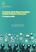 The role of Schools of Government in Promoting Public Sector Innovation - Agenda