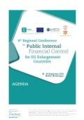 Agenda, 4th Regional PIFC Conference for EU Enlargement Countries, Montenegro, 29-30 September 2016