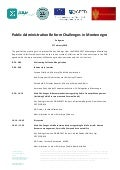 Agenda-Bilateral event: Public Administration Reform Challenges in Montenegro