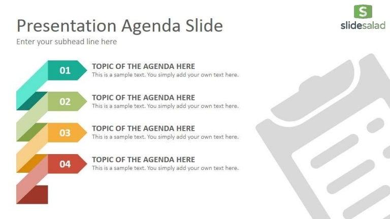 Agenda Diagrams Google Slides Presentation Template ...